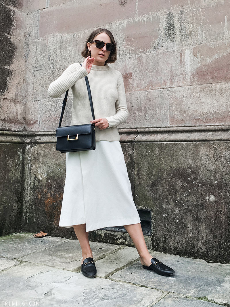 Trini | Céline sunglasses Gucci Princetown loafers