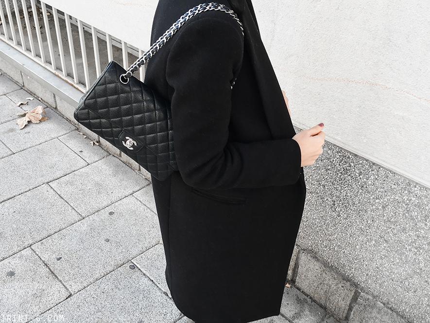 Trini |Céline bam bam boots Chanel classic flap
