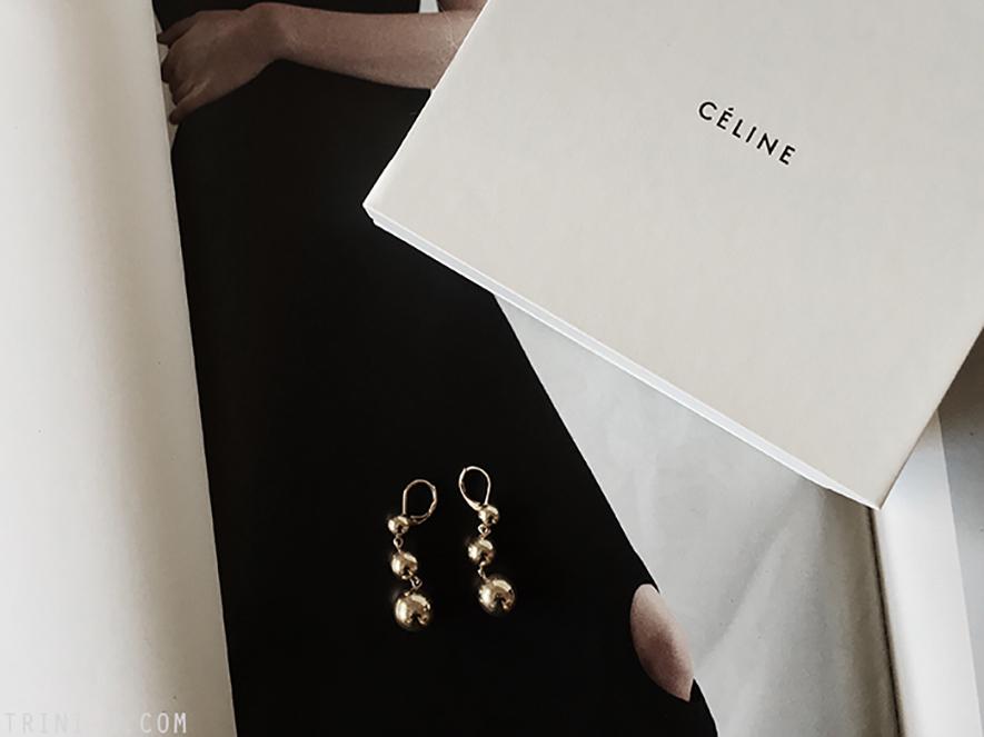 Trini  Céline earrings
