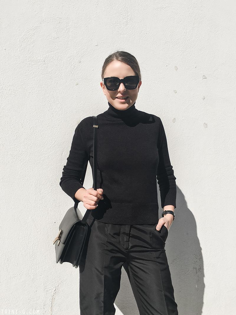 Trini |MaxMara Manuela coat  Céline slip-ons