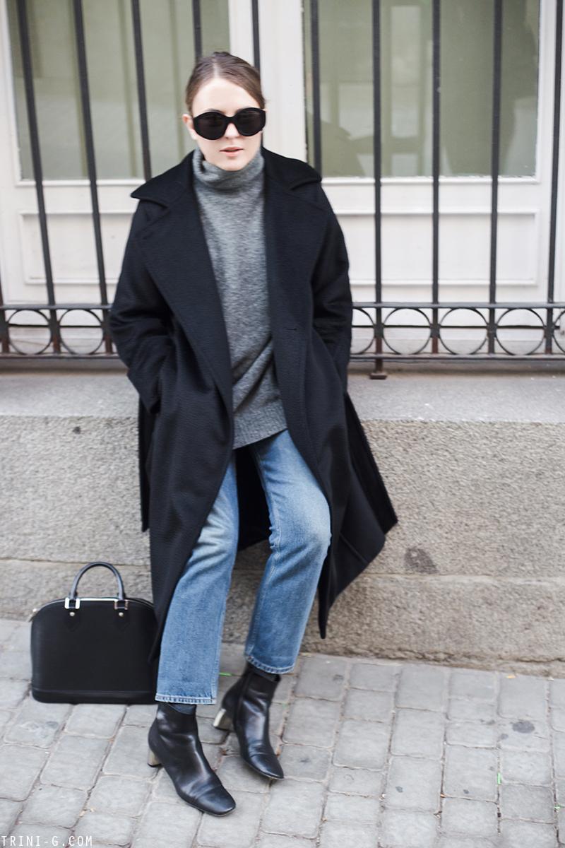Trini | MaxMara Manuela coat Acne Studios jeans
