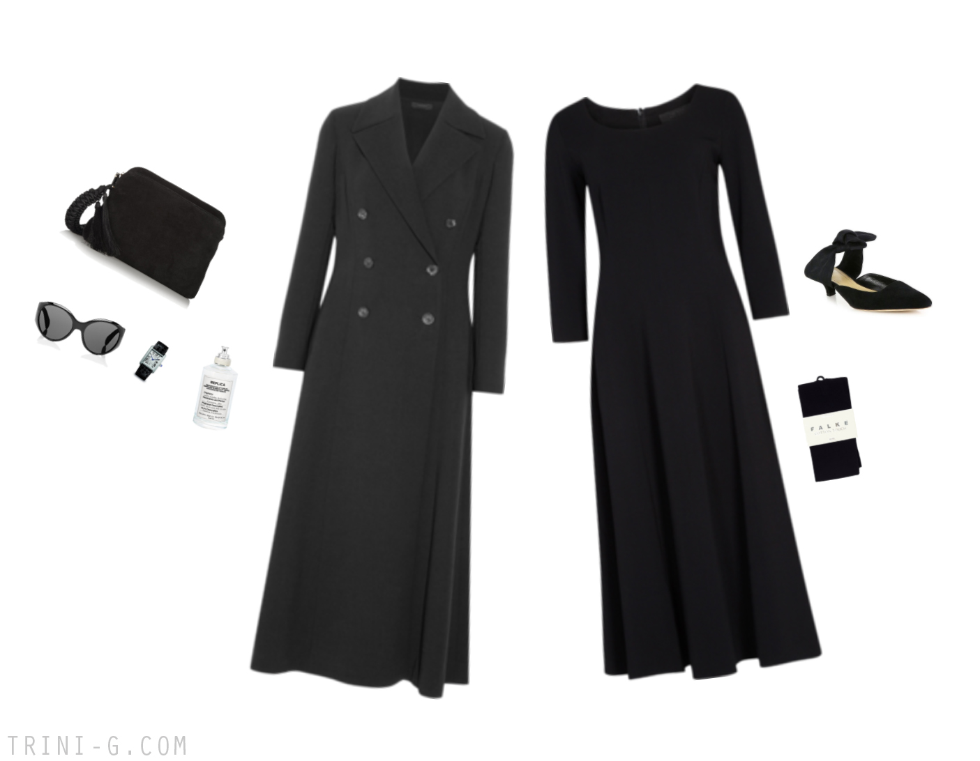 Trini |The Row dress The Row coat