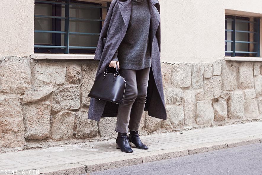 Trini | MaxMara Fiumana coat Balenciaga turtleneck