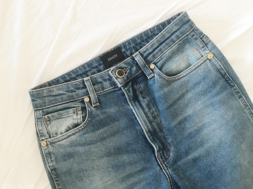 Trini | Khaite Vanessa jeans