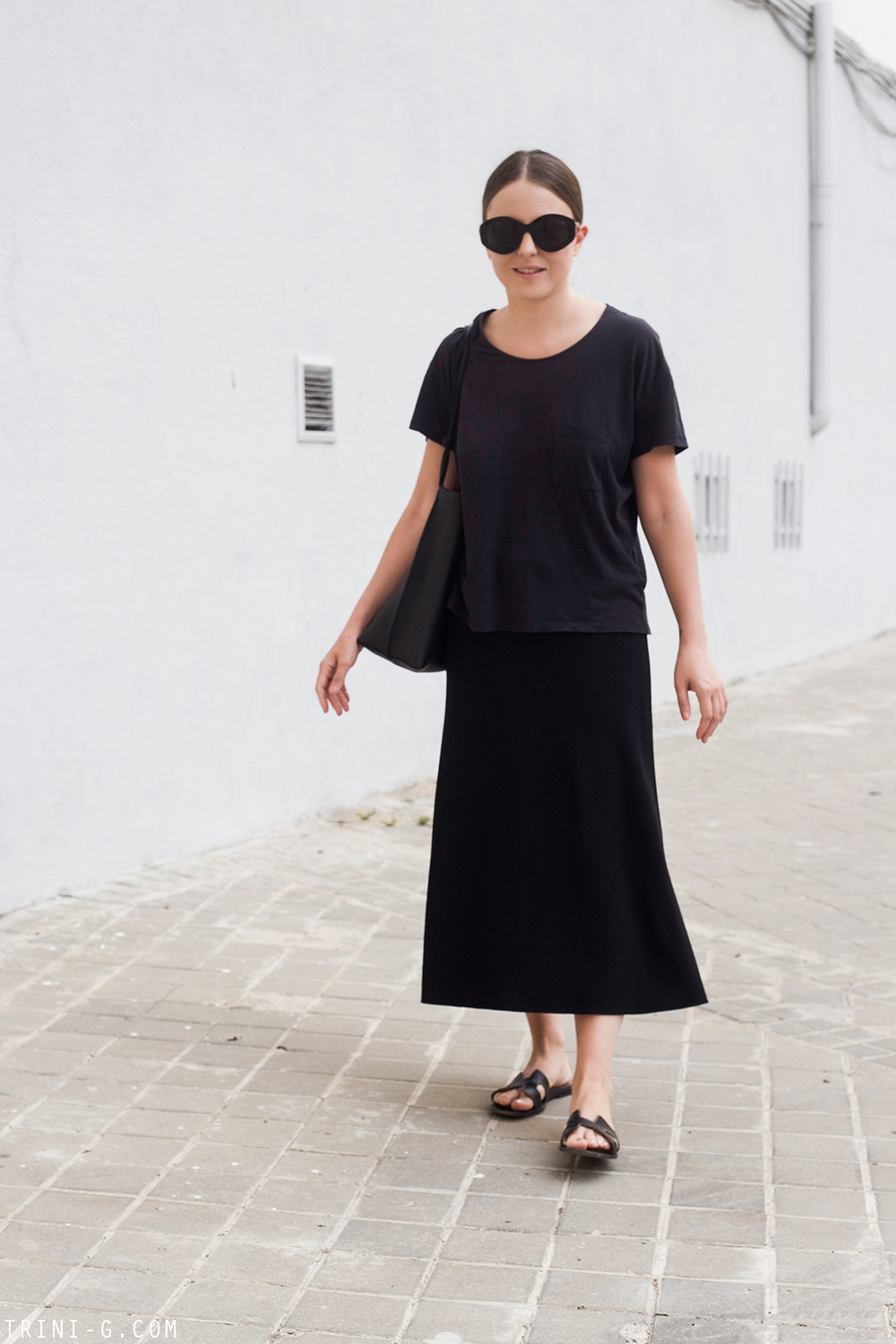 Trini | Acne Studios shirt The Row skirt