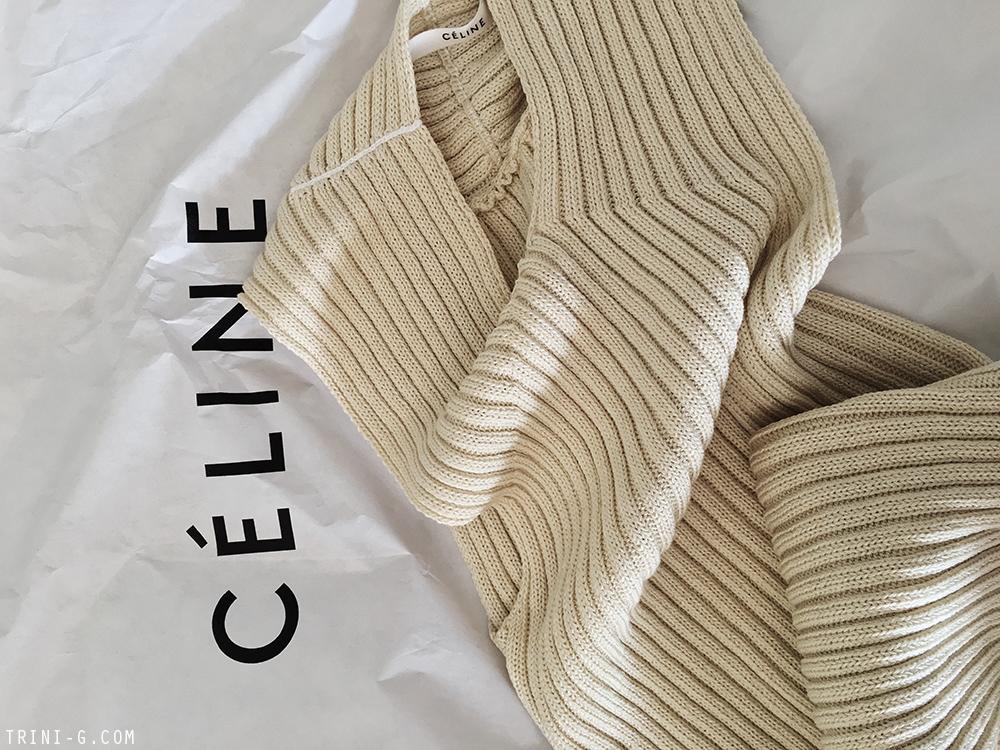 Trini | Céline summer knitwear