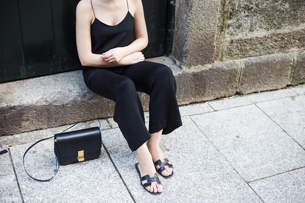 Trini | Tibi camisole Theyskens Theory trousers