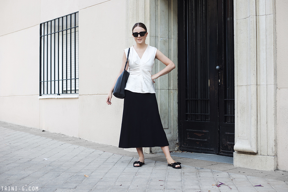 Trini |The Row skirt Isabel Marant top