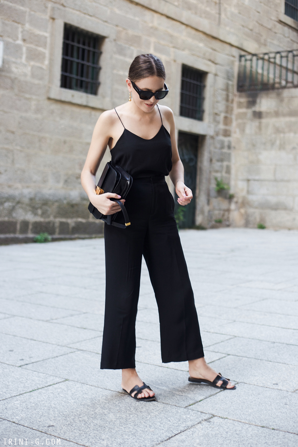 Trini | Tibi camisole Theyskens Theory trousers