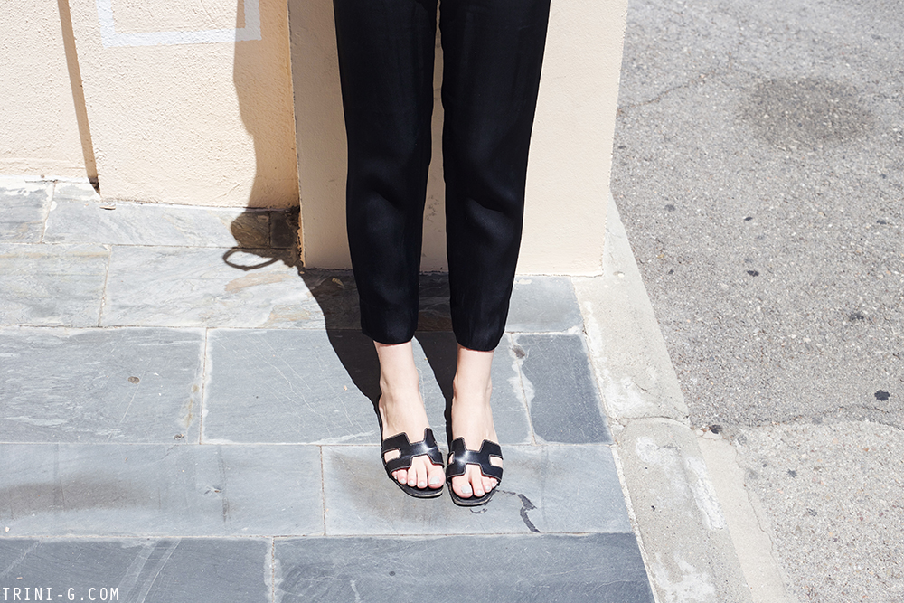 Trini | Céline top Reformation trousers