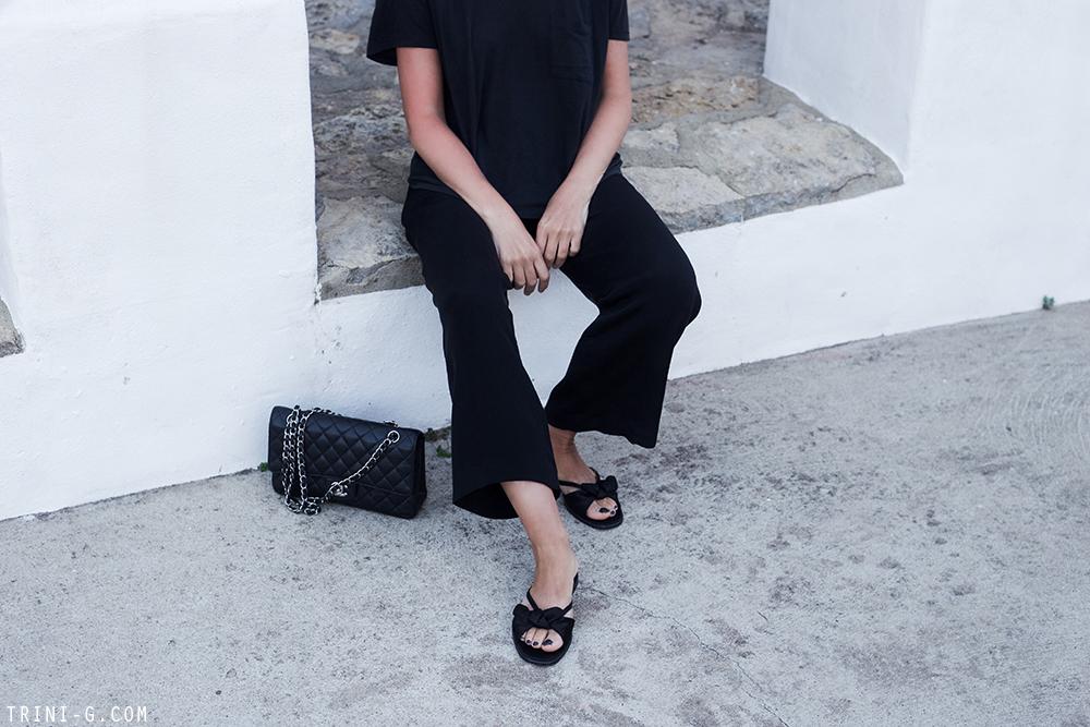 Trini | Acne Studios tshirt Theyskens Theory pants