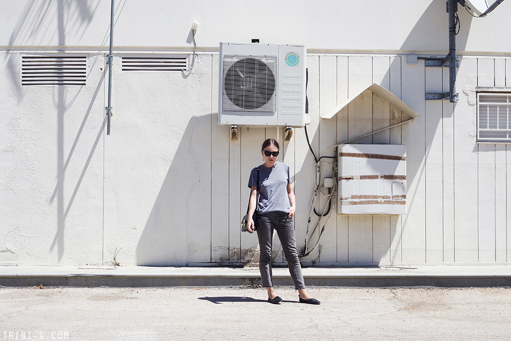 Trini | American Apparel tshirt Topshop jeans