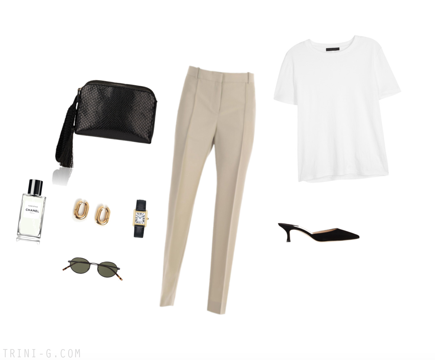 Trini | The Row t-shirt Céline pants