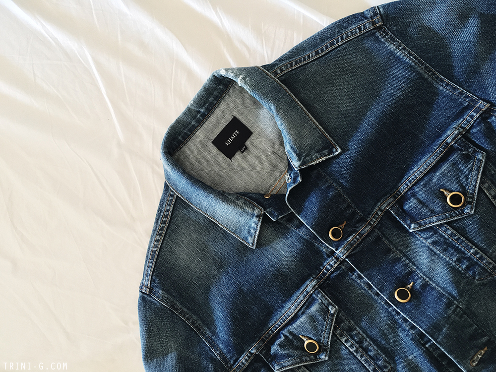 Trini | Khaite denim jacket