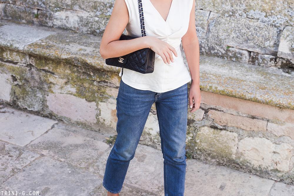 Trini | Isabel Marant top Acne Studios jeans