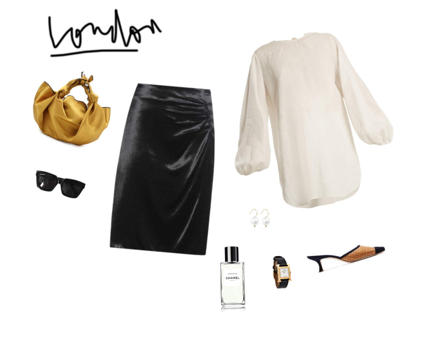 Trini | Prada skirt The Row top