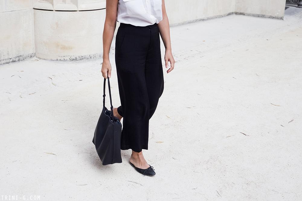 Trini | Equipment sleeveless shirt Theyskens Theory pants