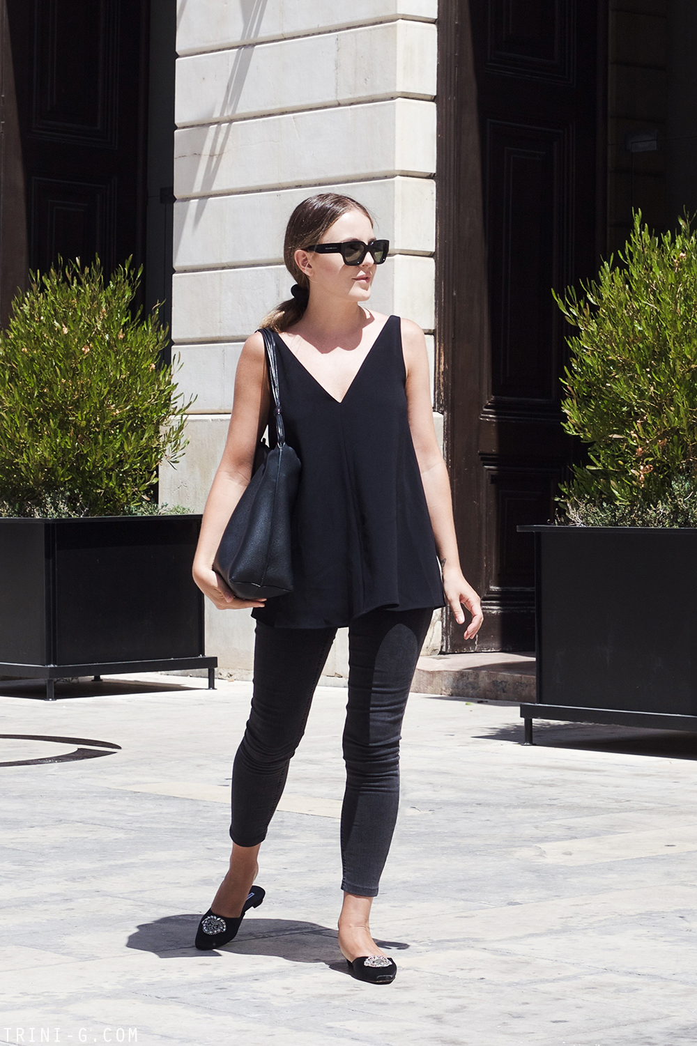 Trini | Stella McCartney top Acne Studios jeans
