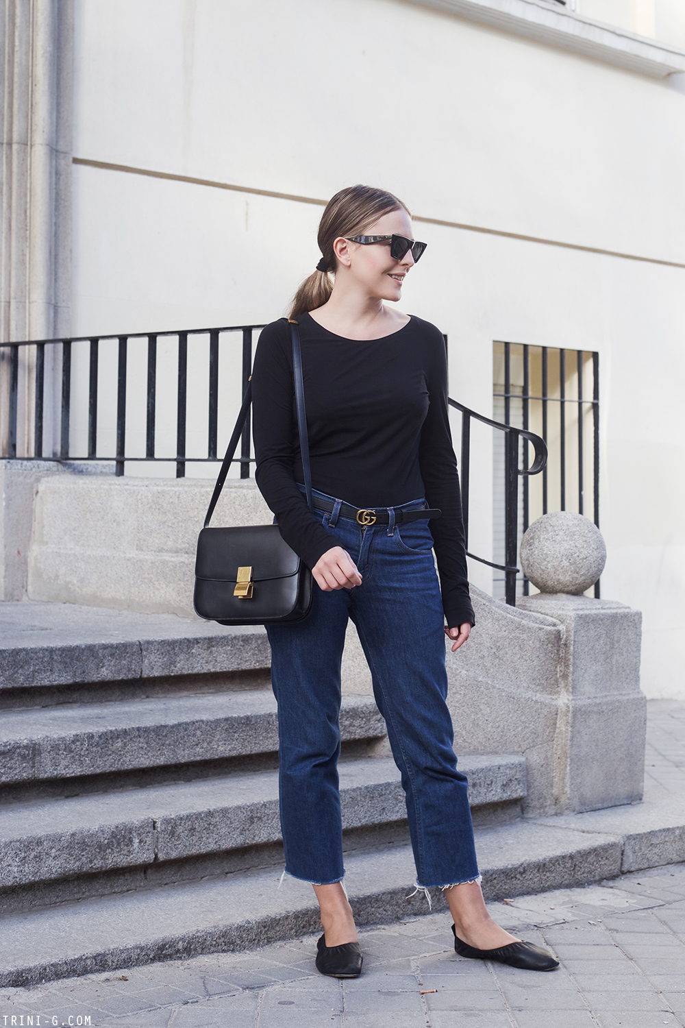 Trini | Wolford top Levi's jeans
