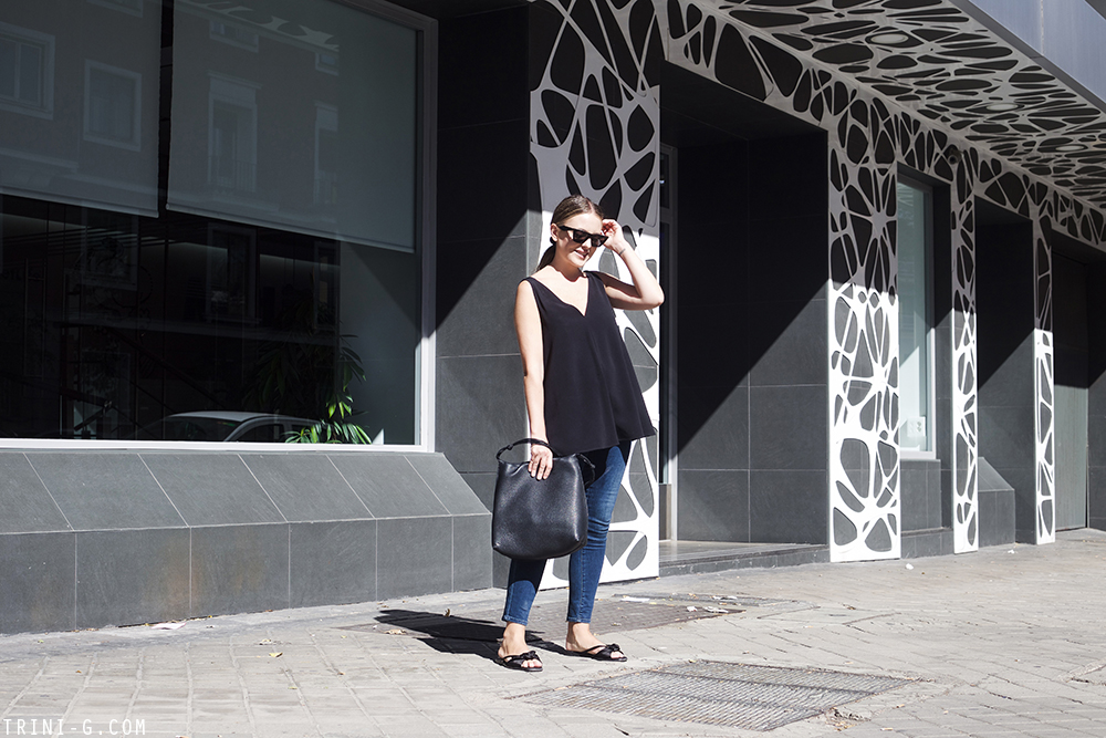 Trini | Stella McCartney top The Kooples jeans