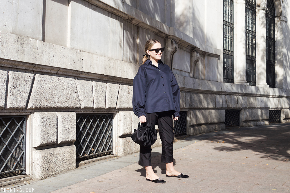 Trini | Prada trousers Céline shirt