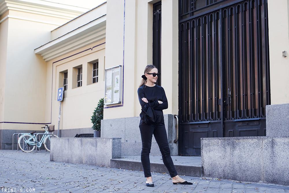 Trini | Balenciaga jeans Deitas top