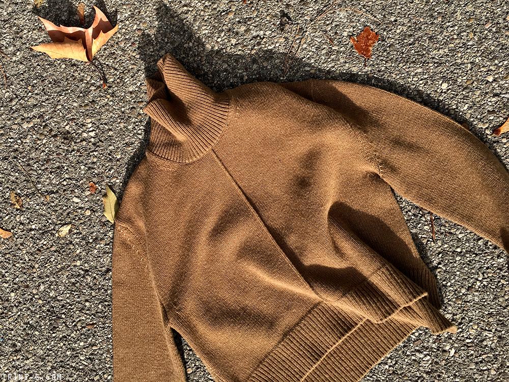 Trini | Celine turtleneck sweater