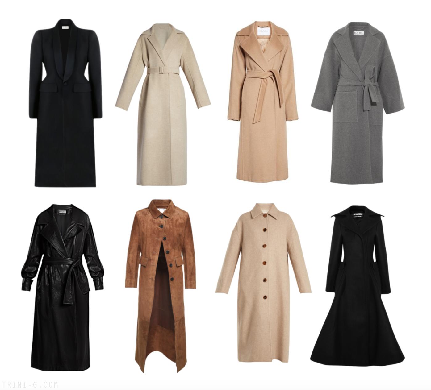 Trini | Acne Studios coat Balenciaga coat