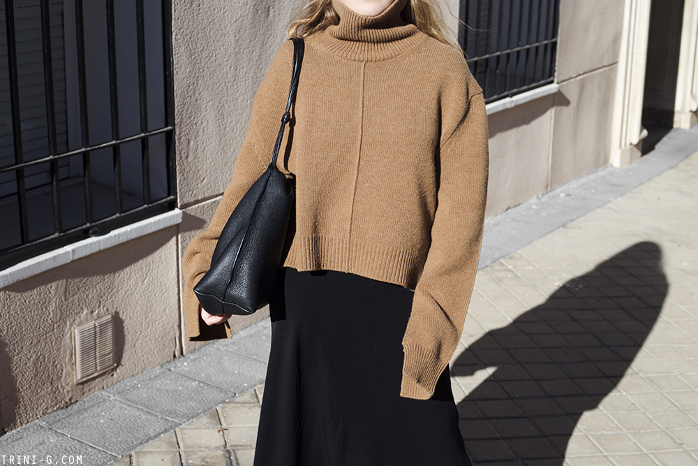 Trini | Céline knitwear The Row skirt