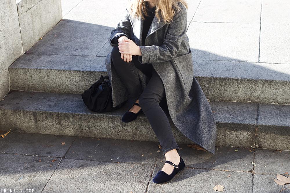 Trini |Max Mara coat Balenciaga jeans