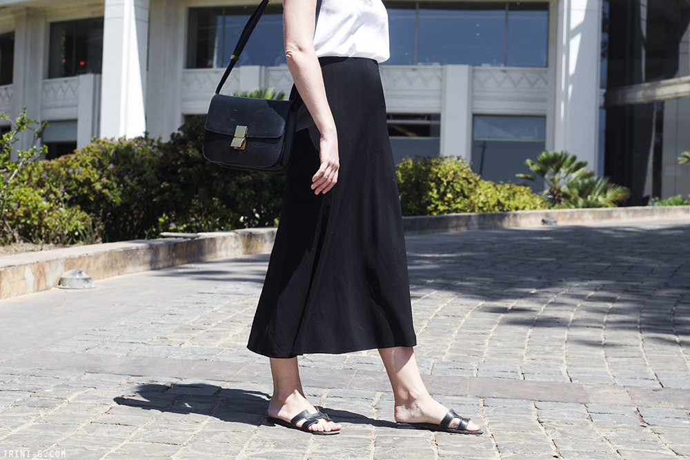 Trini | Tibi camisole The Row skirt