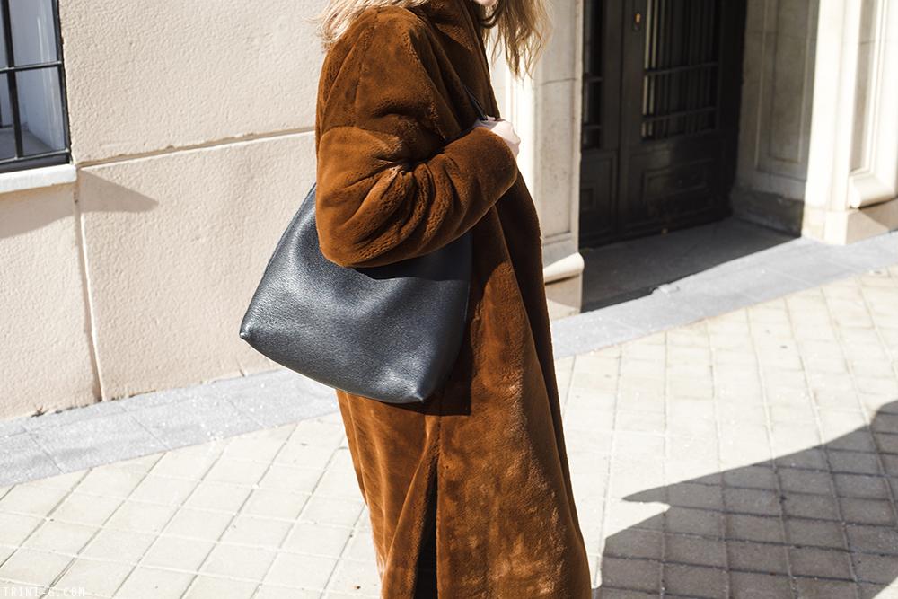 Trini | Toteme coat Balenciaga jeans