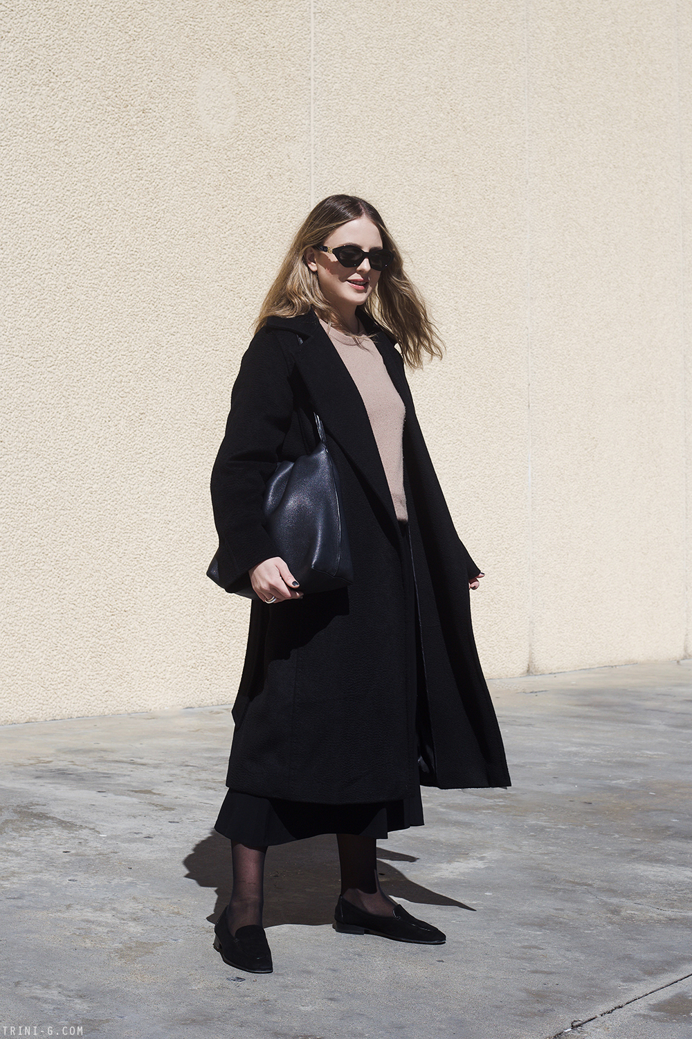 Trini | Max Mara coat The Row loafers