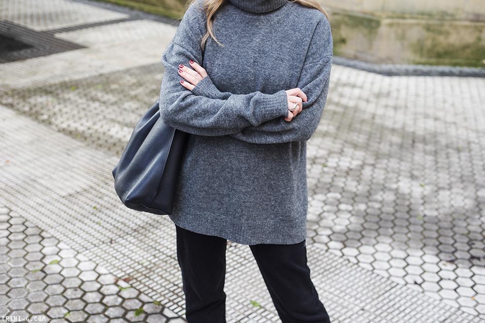 Trini | Balenciaga sweater Levi's 501 jeans