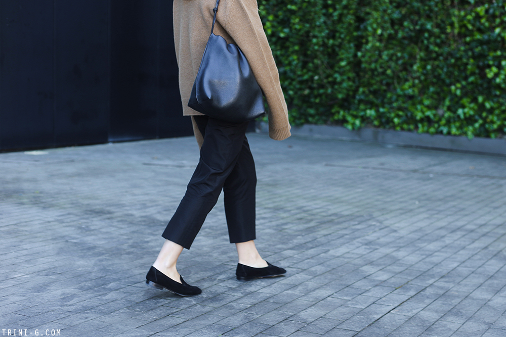 Trini | Céline turtleneck The Row loafers