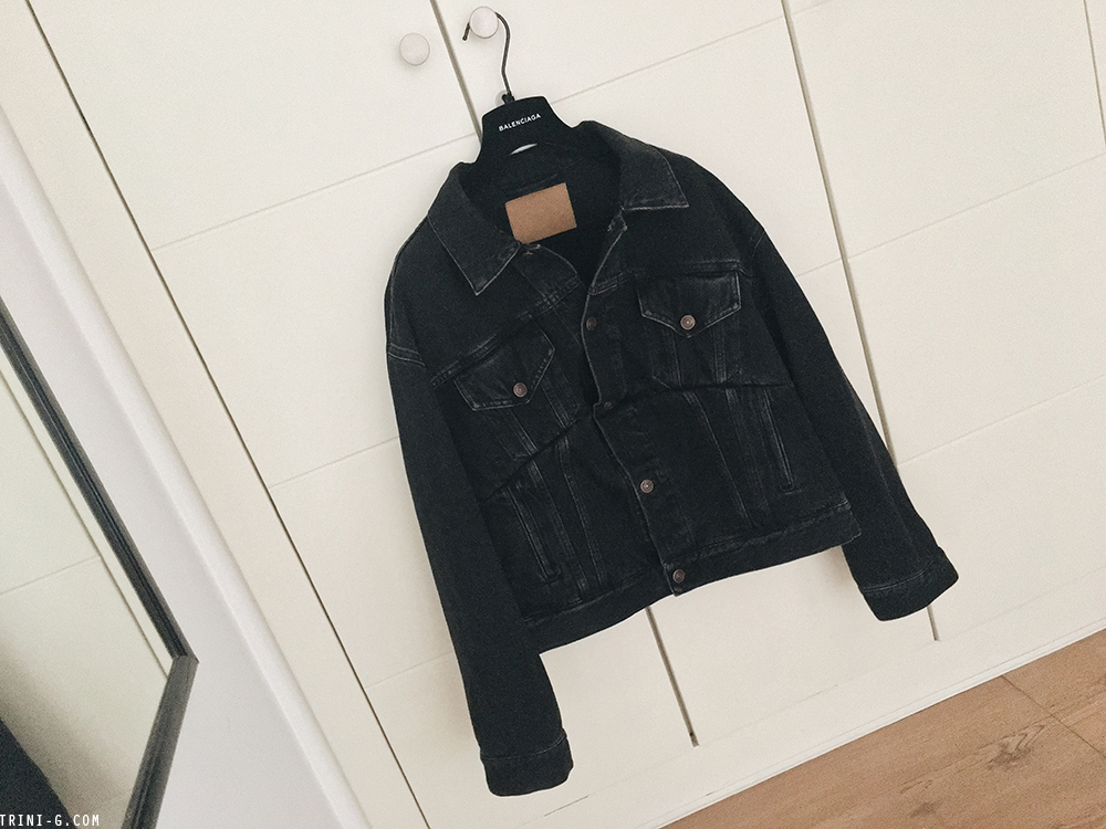 Trini | Balenciaga Swing denim jacket