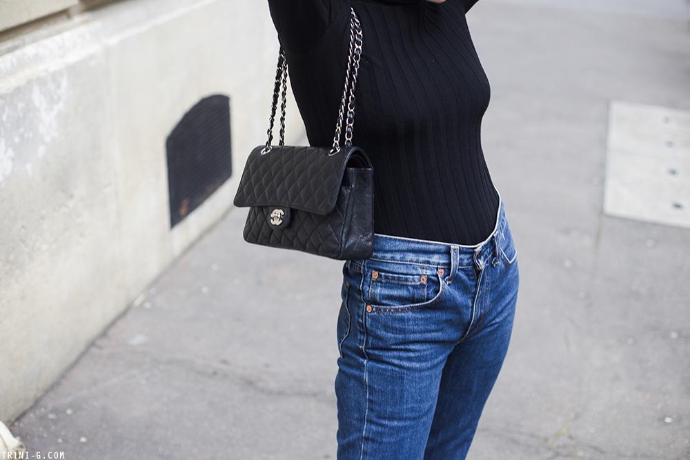 Trini | Levi's jeans Acne Studios turtleneck