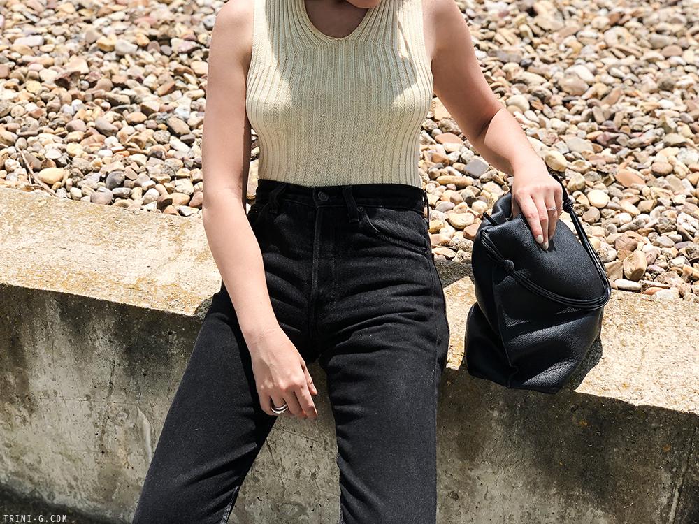 Trini | Levi's vintage 501 jeans Céline top
