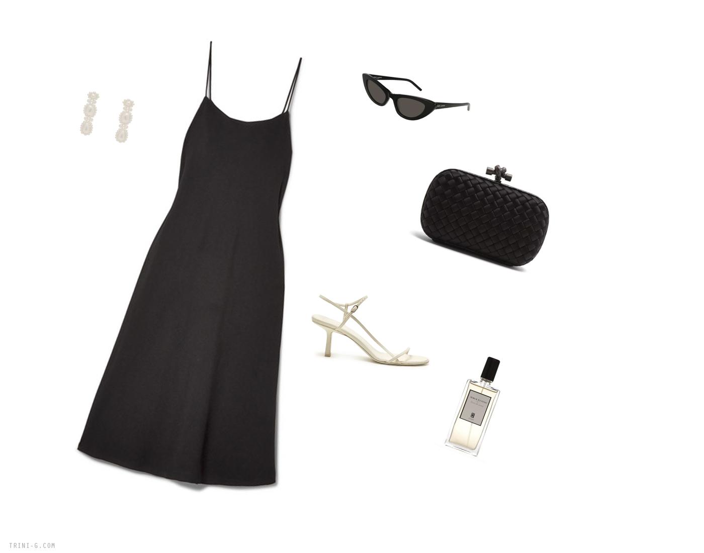 Trini | The Row dress Bottega Venetta bag