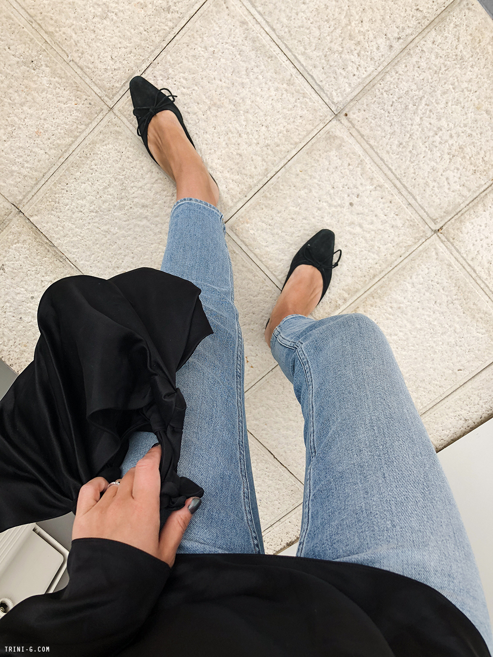 Trini | Acne Studios jeans Deitas top