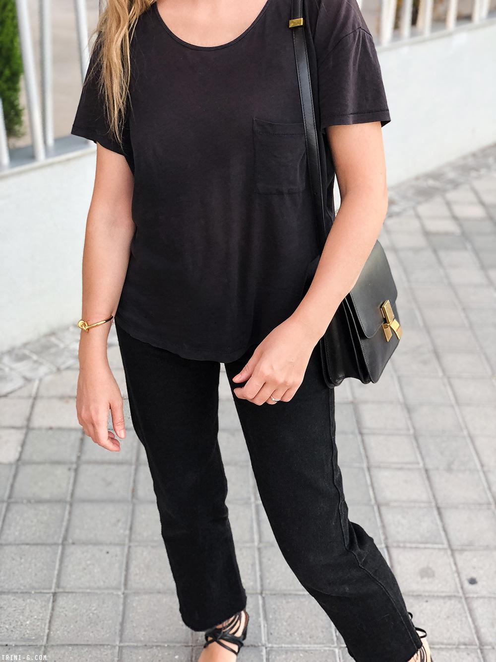 Trini | Acne Studios t-shirt Levi's 501 jeans