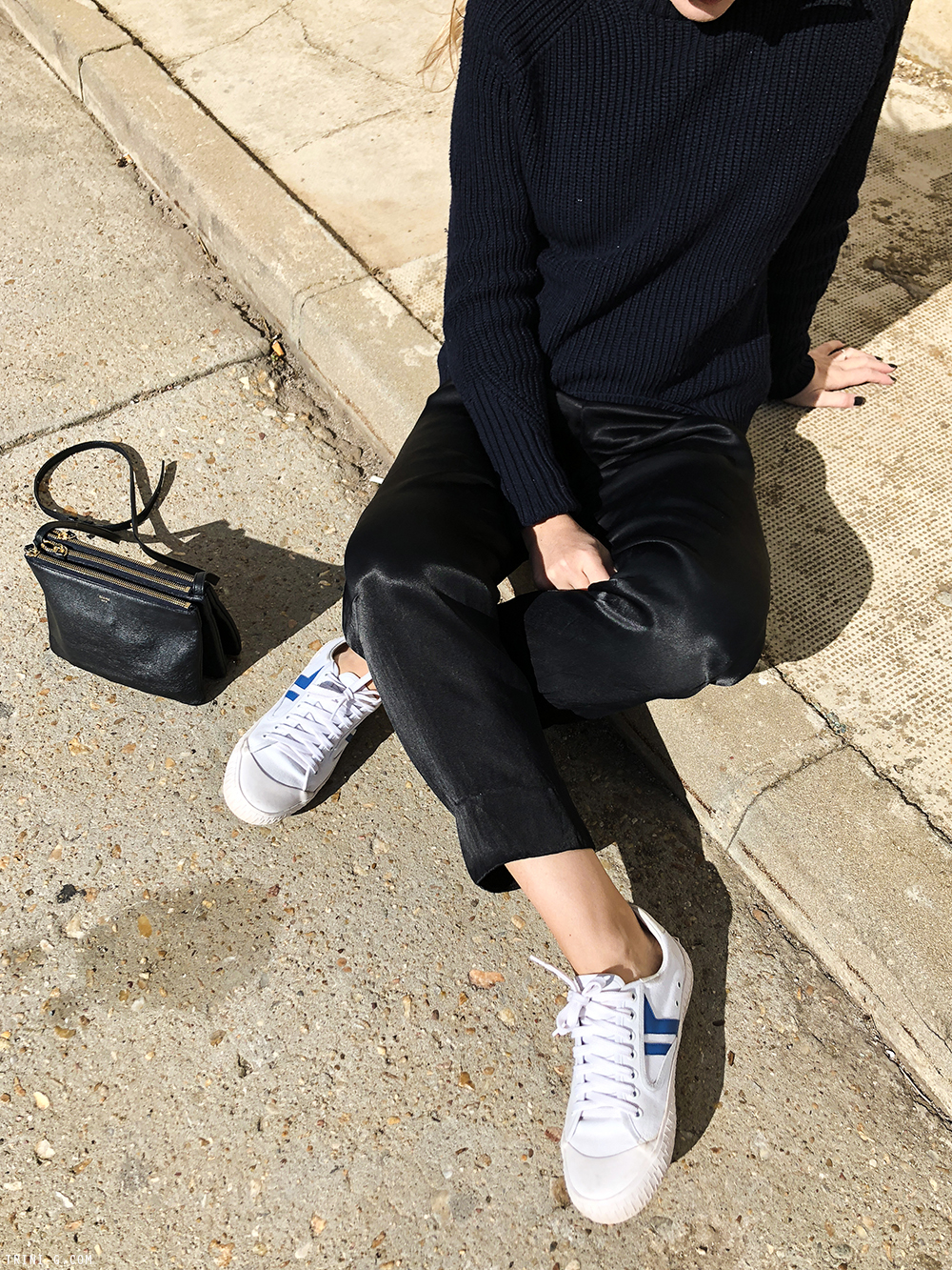 Trini | 3.1 Phillip Lim sweater Céline sneakers