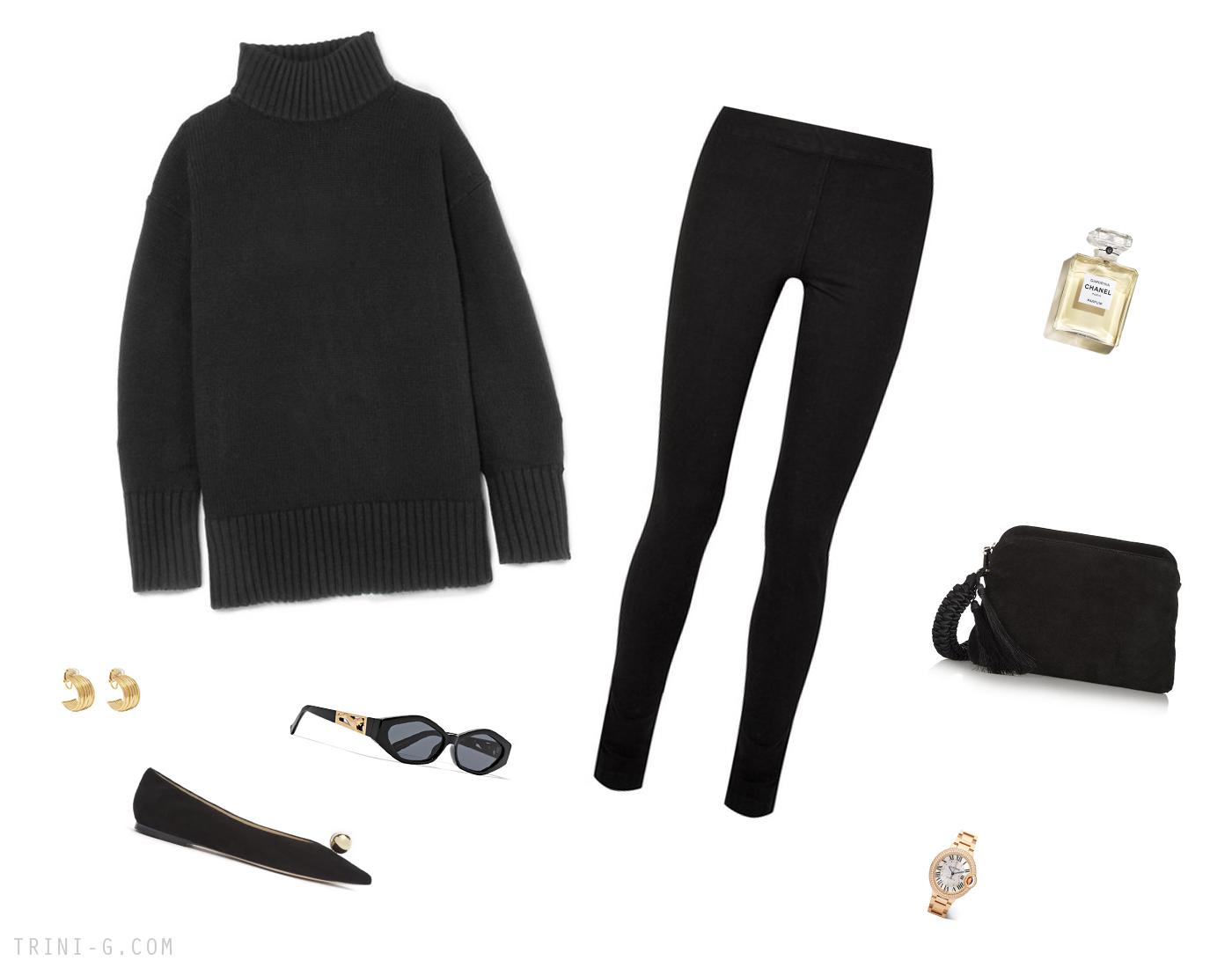 Trini | The Row leggings Proenza Schouler sweater