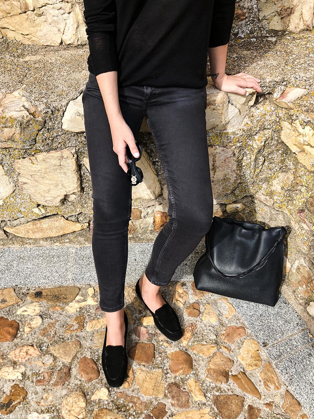 Trini | Balenciaga jeans Versace sunglasses