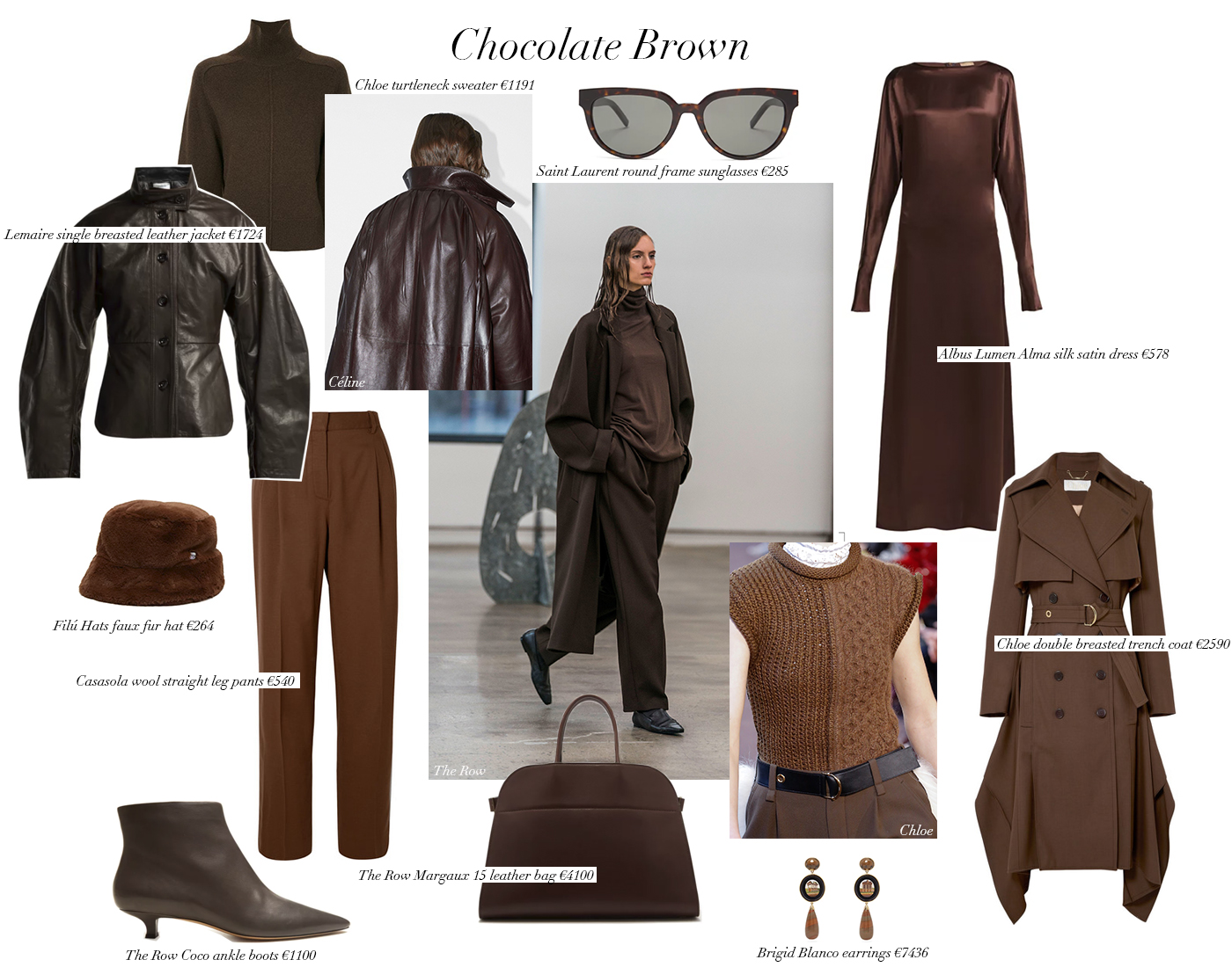 Trini | Chocolate brown