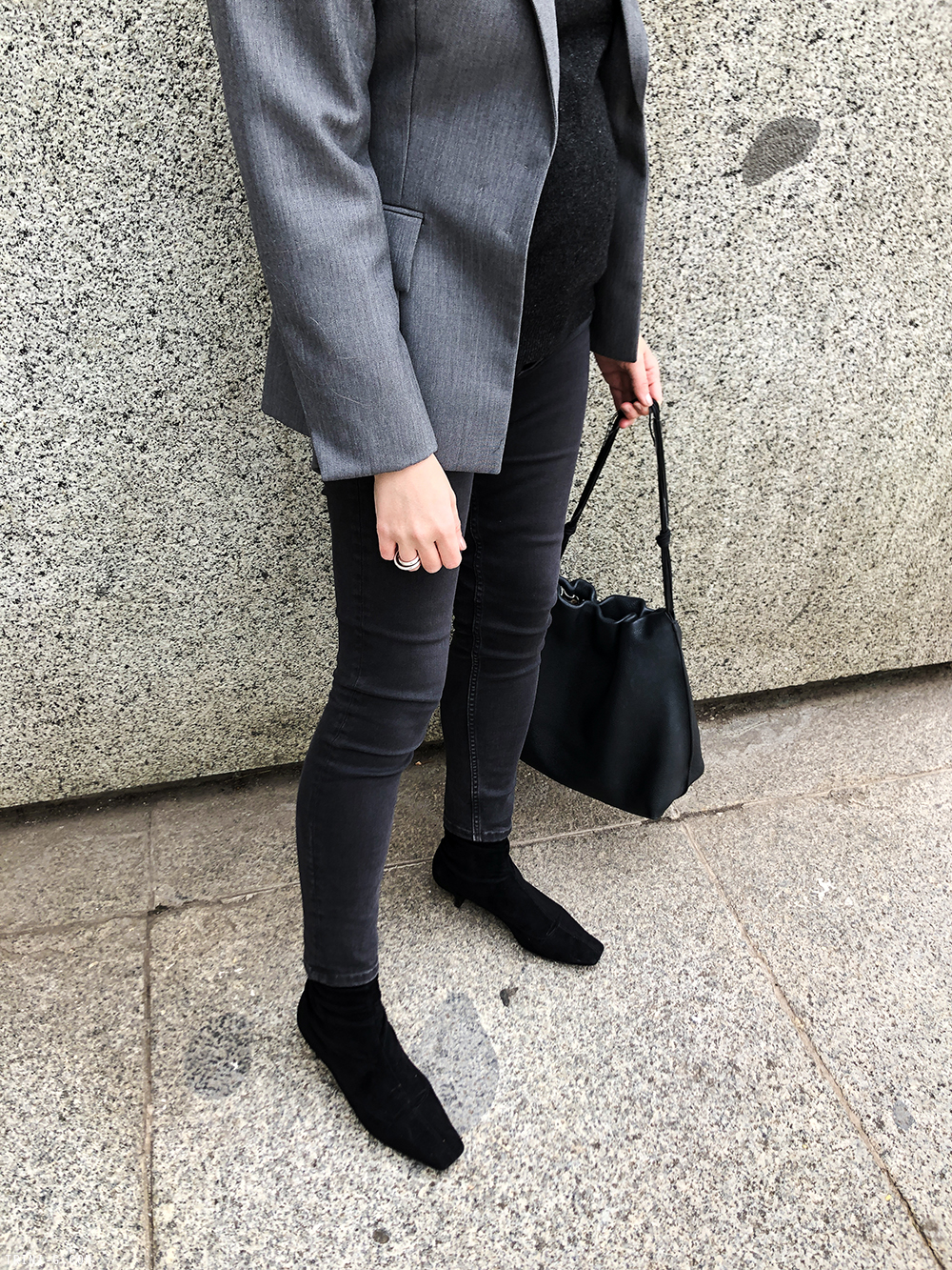 Trini | Céline blazer Balenciaga jeans