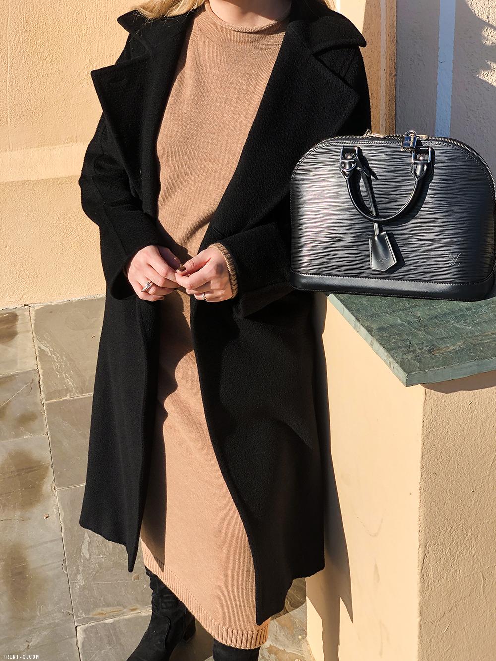 Trini | Max Mara coat Max Mara dress