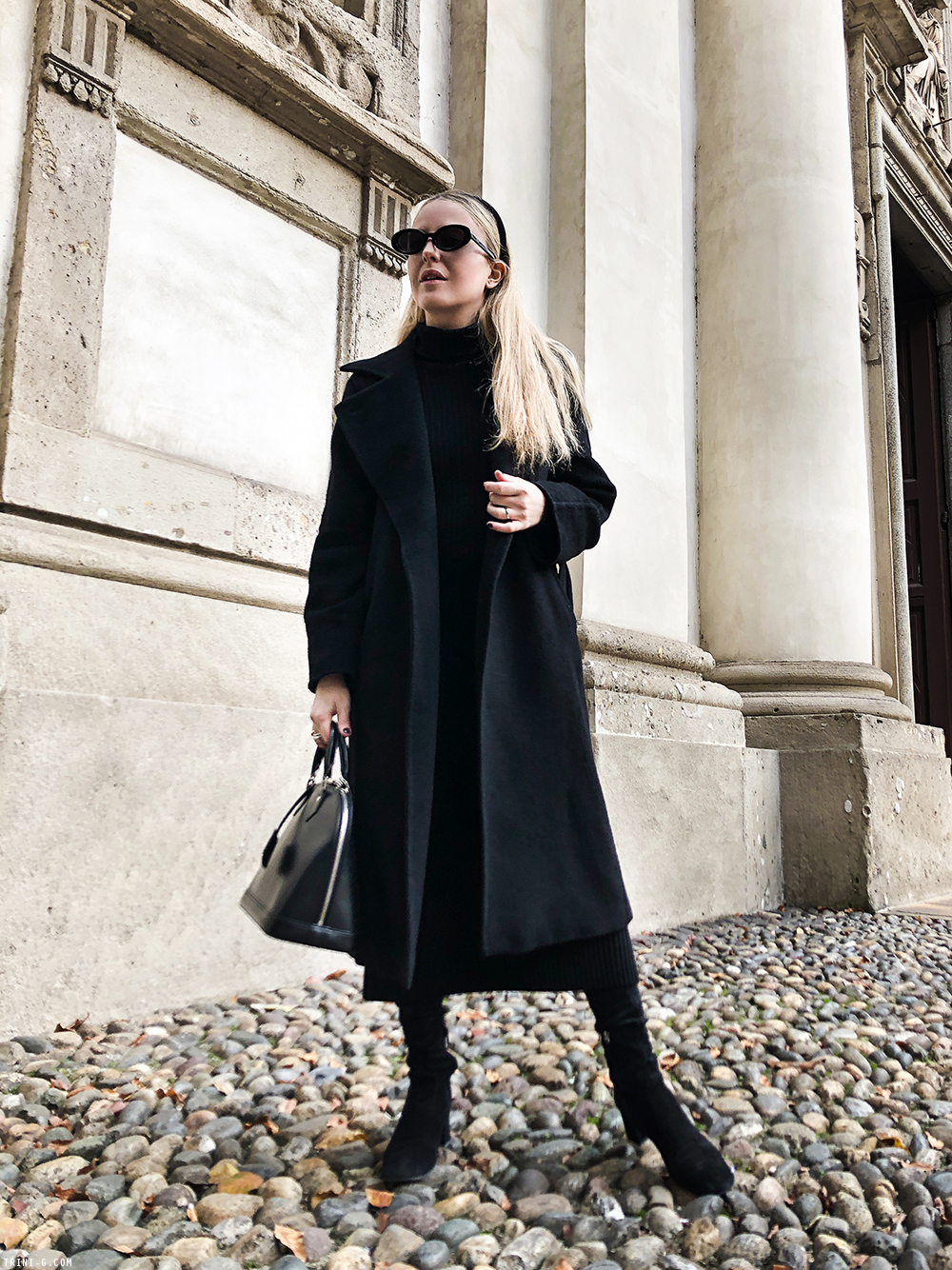 Trini | Max Mara Manuela coat Max Mara dress