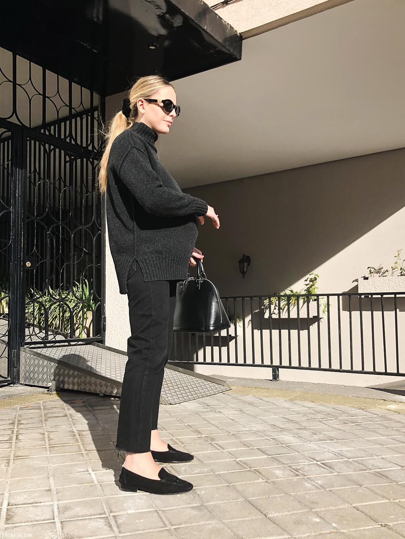 Trini |Max Mara sweater Levi's jeans