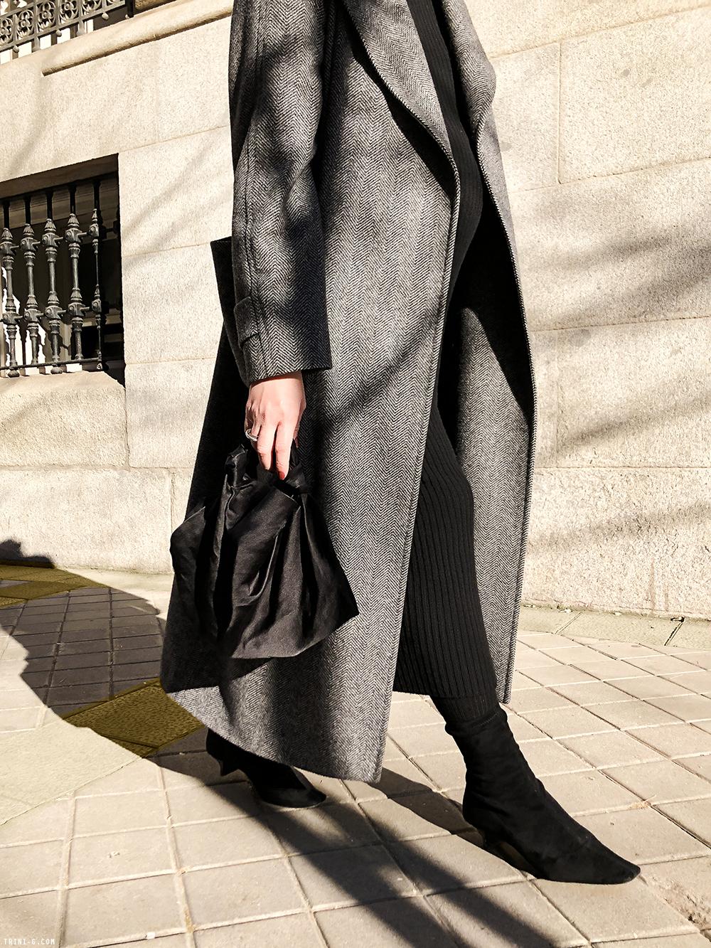 Trini | Max Mara dress Stella McCartney boots